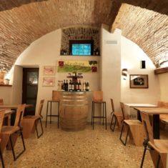 Stube, sala degustazioni - Agriturismo biologico Polisena