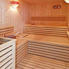 Sauna finlandese - Agriturismo biologico Polisena