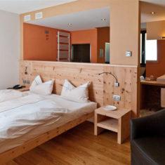 Suite con spa privata a Bergamo - La camera da letto