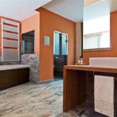 Suite con spa privata a Bergamo - La zona benessere privata