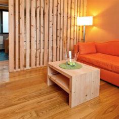 Suite con spa privata a Bergamo - Il soggiorno